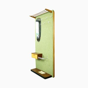 Mobiletto Mid-Century con specchio di Diele und Flur, Germania, anni '60