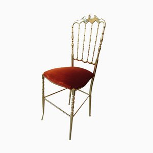 Vintage Chiavari Side Chair, 1960s