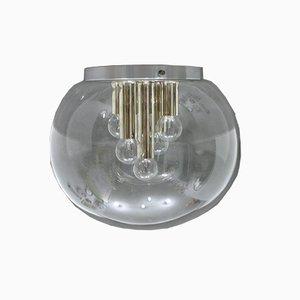 Deutsche Deckenlampe, 1980er