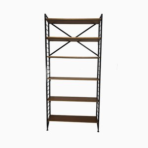 Teak & Metal Ladderax Bookshelf by Robert Heal for Staples, 1960s