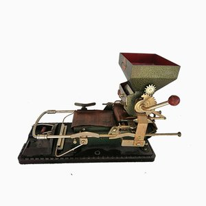 Antique Cigarette Rolling Machine from Hermanos Victorero, 1915