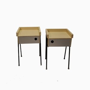 Modernist Nightstands by Rob Parry for DiCo, 1956, Set of 2