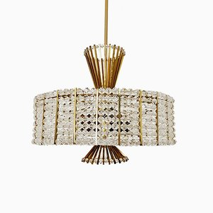 Vintage Chandelier by Emil Stejnar for Rupert Nikoll, 1960s