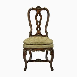 Antique George II Dining Chairs, 1760s, Set of 4