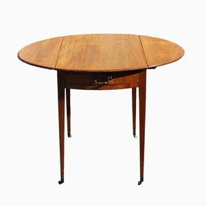 Mahogany Drop-Leaf Table, 1920s