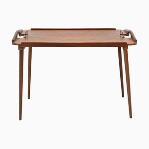 Norwegian Folding Tray Table from Aase Dreieri, 1960s