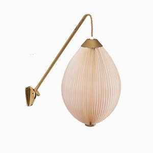 Swivelling Wall Lamp, 1950s