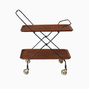 Teak Tea Trolley from Jie Gantofta, 1960s