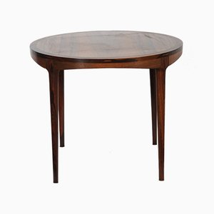 Scandinavian Wooden Side Table by Haug Snekkeri for Bruksbo, 1960s