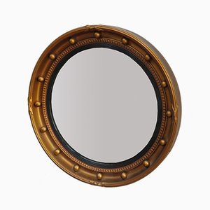 English Butlers Porthole Convex Mirror, 1940s