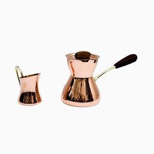 Set aus Kaffee- & Milchkanne von Hagenauer, 1950er