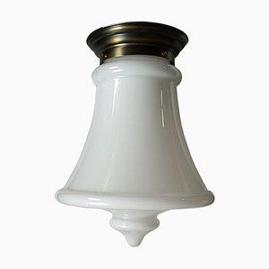 Lámpara de techo estilo Art Déco grande de Lumi, años 50