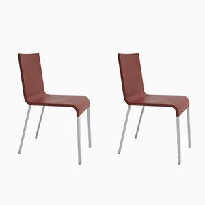 Esszimmerstühle aus Polyurethane von Maarten Van Severen für Vitra, 2000er, 2er Set