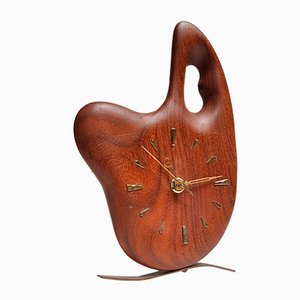 Horloge Palette d'Artiste Mid-Century de Palmtag