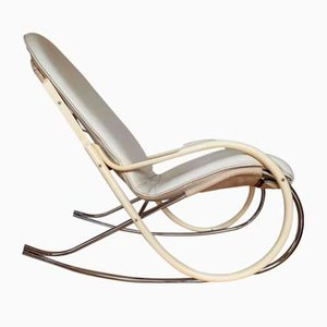 Rocking Chair Vintage par Paul Tuttle pour Strässle, Suisse, 1970s