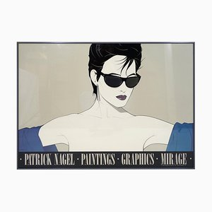 Poster di occhiali da sole di Patrick Nagel, 1983