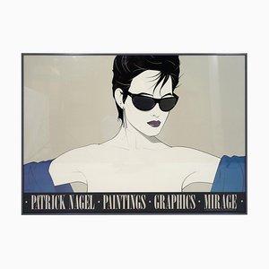 Sonnenbrillen-Poster von Patrick Nagel, 1983