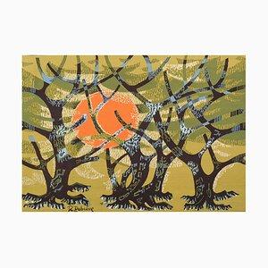 L'Oliveraie Tapestry by Robert Debiève, 1950s