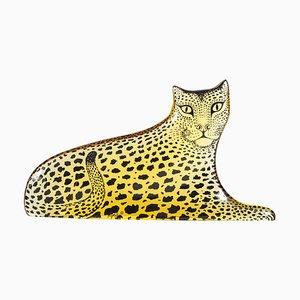 Leopard aus Lucite von Abraham Palatnik, 1970er