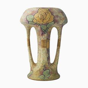 Austrian Art Nouveau Vase from Amphora, 1900s