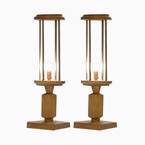 Vintage Tischlampen von Guillerme et Chambron für Votre Maison, 1960er, 2er Set