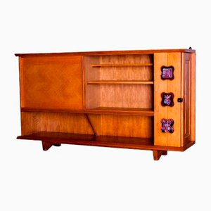 Oak Sideboard by Guillerme et Chambron, 1960s