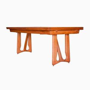 Französischer Tisch von Guillerme et Chambron für Votre Maison, 1965