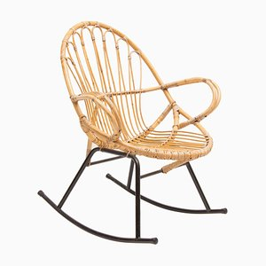Mid-Century Rocking Chair by Rohe Schommelstoel