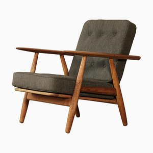 Danish GE-240 Cigar Chair by Hans J. Wegner for Getama, 1960s