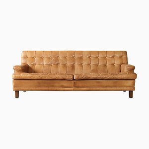 Leather Mexico Sofa by Arne Norell for Norell Möbel AB, 1970s