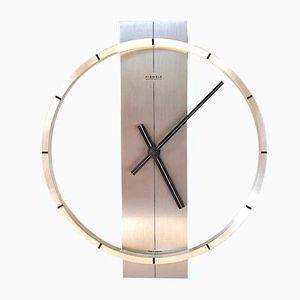 Automatic Aluminum Wall Clock from Kienzle, 1960s