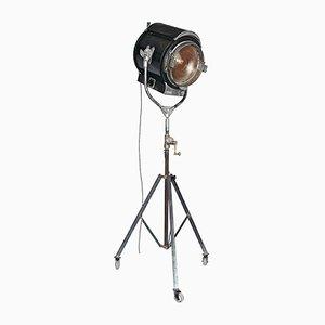Lámpara de pie industrial Mid-Century, años 50