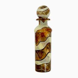 Karaffe aus Texturglas von Michael Harris für Mdina, 1970er