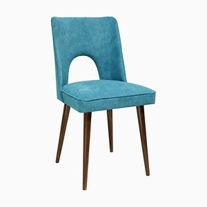 Vintage Azure Side Chair, 1970s