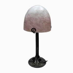 Art Deco Lamp by L'ELF for Louis Fontaine, 1930s
