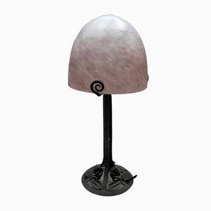 Art Deco Lampe von L'ELF für Louis Fontaine, 1930er