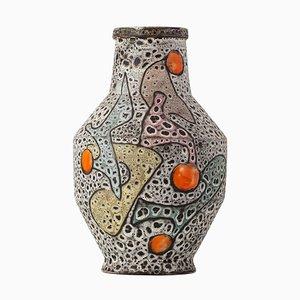 Farbige Vase von Marius Bessone, 1960er