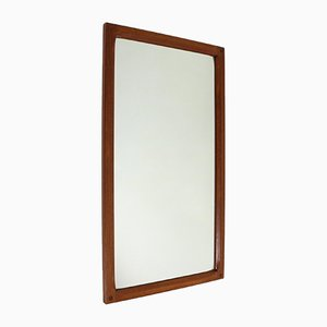 Danish Teak Mirror by Aksel Kjersgaard for Odder Møbler, 1960s