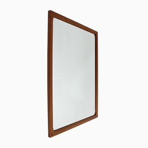Teak Mirror by Aksel Kjersgaard for Odder Mobler, 1960s
