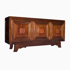 Art Deco French Credenza by Gaston Poisson, 1930s