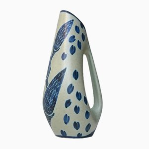 Vaso vintage in ceramica di Einar Johansen per Søholm, Danimarca, anni '60