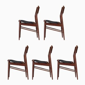 Vintage Side Chairs, 1960s, Set of 5