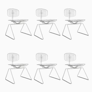 Vintage Side Chairs by Michel Cadestin, Set of 6