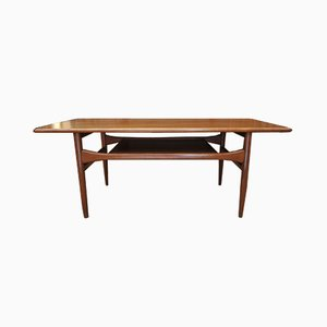 Danish Teak Coffee Table from Arrebo Mobler, 1960s