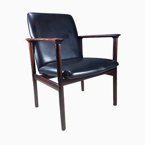 Impala Armlehnstuhl aus Palisander von Cor Bontenbal für Fristho, 1962