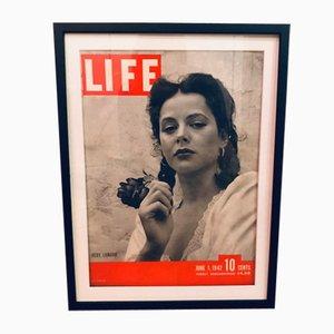 Vintage Life Magazine Poster, 1942