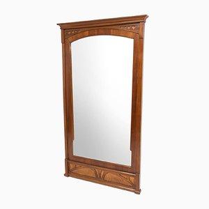 Miroir Mural Art Nouveau, Début 20ème Siècle
