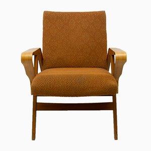 Mid-Century Bentwood Lounge Chairs by František Jirák for Tatra nábytok, 1960s, Set of 2