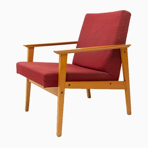 Danish Armchairs from TON, 1960s, Set of 2