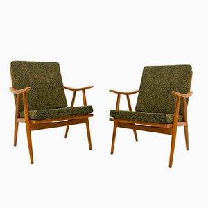 Armchairs by Antonín Šuman for TON, 1960s, Set of 2